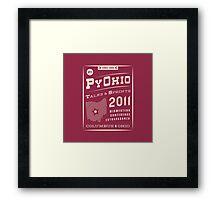 PyOhio 2011 Framed Print