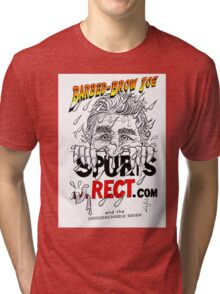 Sticker - Barbed Brow Joe Tri-blend T-Shirt