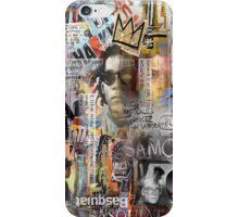 jean michel basquiat iPhone Case/Skin