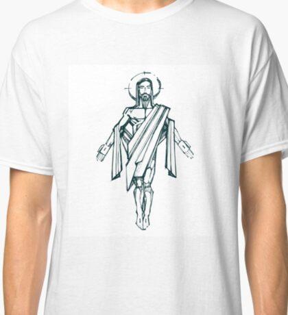Jesus Christ Resurrection drawing Classic T-Shirt