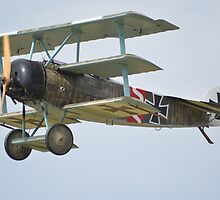 Fokker Dreidecker Replica by mike  jordan.