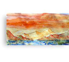 the highland way Canvas Print