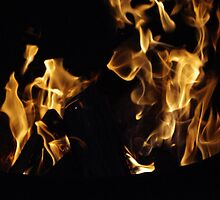 Fire by Maurice Campeau