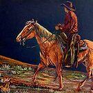 Sunset Ride by Susan Bergstrom