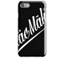 Diagonal Macmak™ on black. iPhone Case/Skin