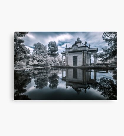 Cold Mirror Canvas Print