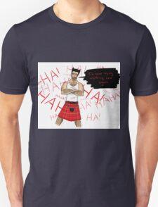 Wolverine in a Kilt Unisex T-Shirt