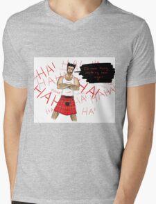 Wolverine in a Kilt Mens V-Neck T-Shirt
