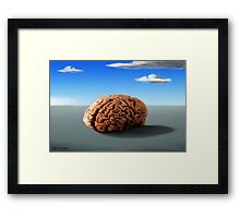 SURREALISM - Thinking Of The Female Body Framed Print