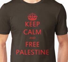 KEEP CALM AND FREE PALESTINE T SHIRT & gifts Unisex T-Shirt