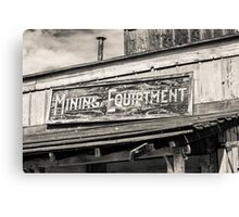 Mining Equipment Canvas Print