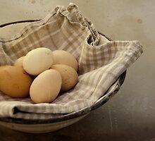 « Eggs from the buxom-Farm Girl » by Thierry Wojtczak
