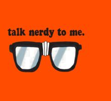 Talk Nerdy to me by codyfre
