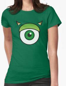 Mike Wazowski Womens Fitted T-Shirt