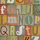 Retro Alphabet by dreamincolor85