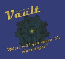 Vault-tec's Vault 101 by monguss
