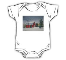 Winter Farm One Piece - Short Sleeve