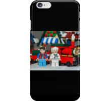 Doc and Marty and a Xmas Train iPhone Case/Skin