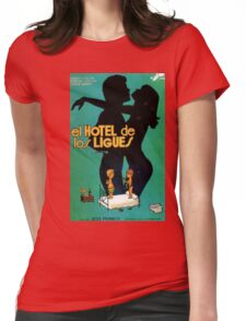 The Hotel  Womens Fitted T-Shirt
