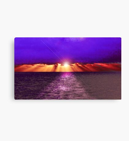 Path to the Sun Canvas Print