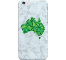 Abstract Australia Emerald Forest iPhone Case/Skin