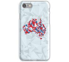 Abstract Australia Aussie Patriot iPhone Case/Skin