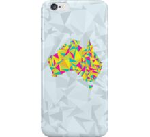 Abstract Australia Bright Earth iPhone Case/Skin