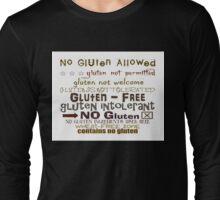 Gluten Free, Wear It, Share It Long Sleeve T-Shirt