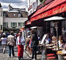 Montmartre Restaurant by GiuseppeZ