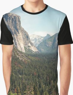 Yosemite Valley Graphic T-Shirt