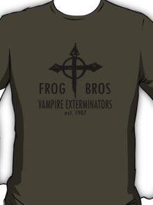 FROG BROS VAMPIRE EXTERMINATORS T-Shirt