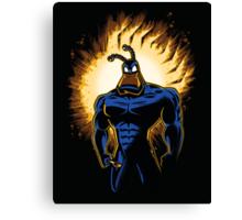 The Dark Mite Rises Canvas Print
