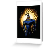 The Dark Mite Rises Greeting Card