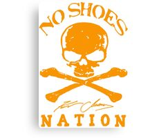 No Shoes Nation Kenny Chesney DBN (2) Canvas Print