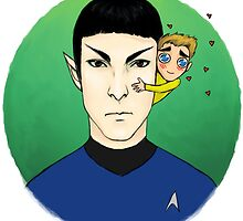 spock is not amused by sabriiel