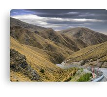 From the Crown Range Road. ( 7 ) Through the Khyber Pass ? Canvas Print