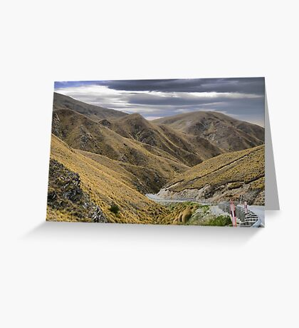 From the Crown Range Road. ( 7 ) Through the Khyber Pass ? Greeting Card