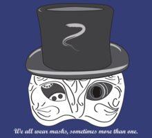 Mask-a-rade t-shirt by Snblinder