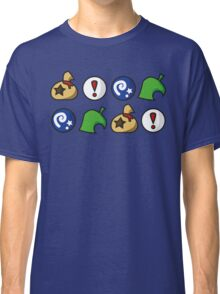 Animal Crossing Items 2 (in many colours!) Classic T-Shirt
