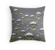 A View From My Gate , A View From My Gate .................. Throw Pillow