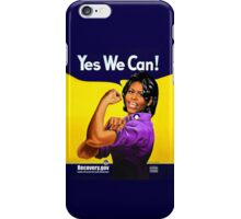 Recovery.gov Michelle Obama as Rosie The Riveter iPhone Case/Skin