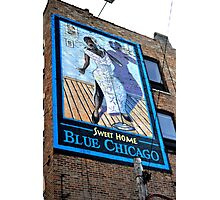 Sweet Home Blue Chicago Photographic Print