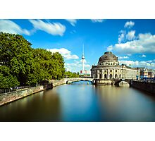 Museum island on Spree river, Berlin Photographic Print