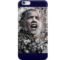 """I Am Not A Perfect Man"", Obama Civil Rights and Protest Collage iPhone Case/Skin"