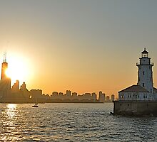 Chicago Lighthouse by HeatherMScholl
