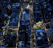 View from Empire State Building by HeatherMScholl