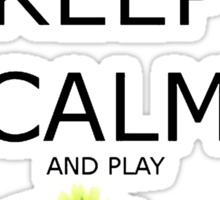 Keep Calm And Play The Sims Sticker