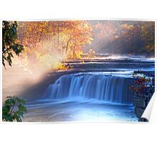 CATARACT FALLS INDIANA'S LARGEST Poster