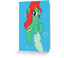 Pony Ariel Greeting Card