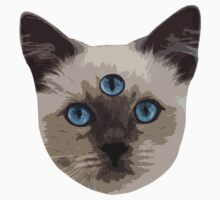 Good Vibes Cat - Original Kids Tee